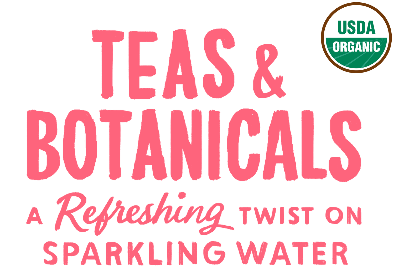 Teas & Botanicals, A Refershing Twist on Sparkling Water